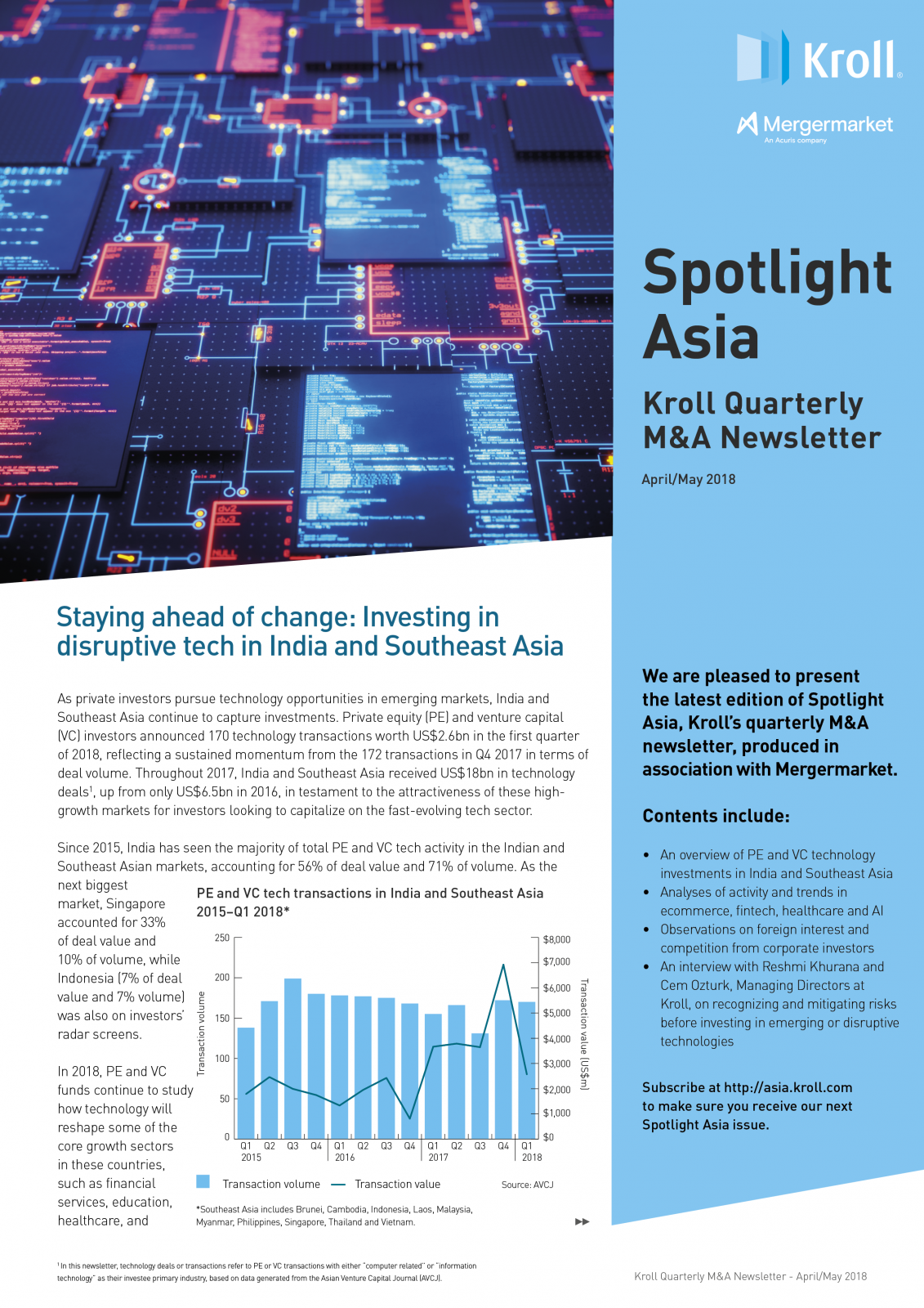 Staying ahead of change: Investing in disruptive tech in India and